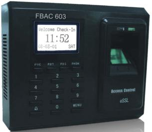 ESSL - FBAC 603 (FBAC 702) Biometric Fingerprint Access