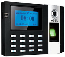 eSSL E9 Fingerprint Attendance Machine